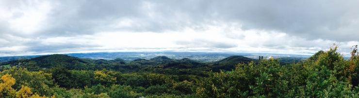 Siebengebirge Panorama 2016