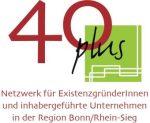 Logo 40 plus Netzwerk