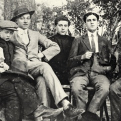 Tzara,_M._Janco,_J._Janco,_Chapier,_Vinea_(1912)