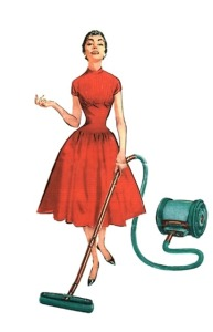 Hausfrau Staubsauger