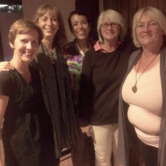 Bonn Femmes Gruppenbild mit Uschi Pruess, Ulla Menge, Claudia Reuschenbach, Nina Offizier, Peggi Liebisch