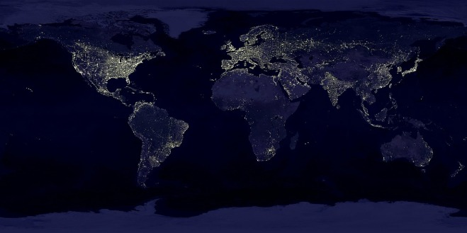 erde-zivilisationslicht-kunstlicht